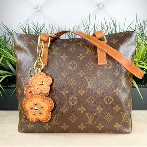 Authenticated Louis Vuitton Cabas Piano Tote